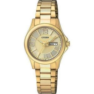 EQ05935-1P Women's Gold Steel Bracelet Watch